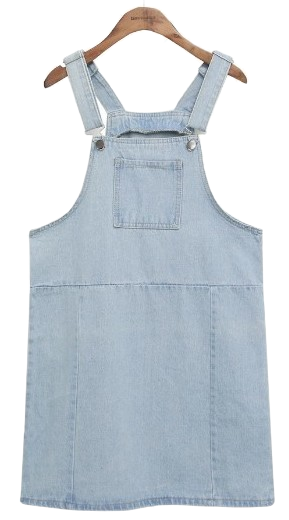 POCKET POINT OVERALL DENIM OPS