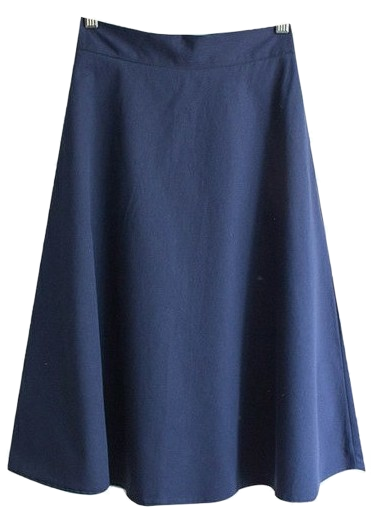 [Planning Specials] Moving cotton A line flared midi skirt