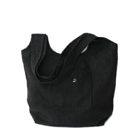 B pocket linen bag (2colors)