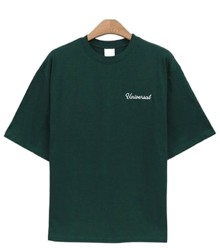 Street embroidered short-sleeved polo shirt (4color)
