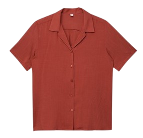 Double Collar Linen Shirt