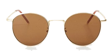 gold browny sunglass