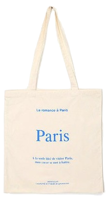 romance paris eco bag