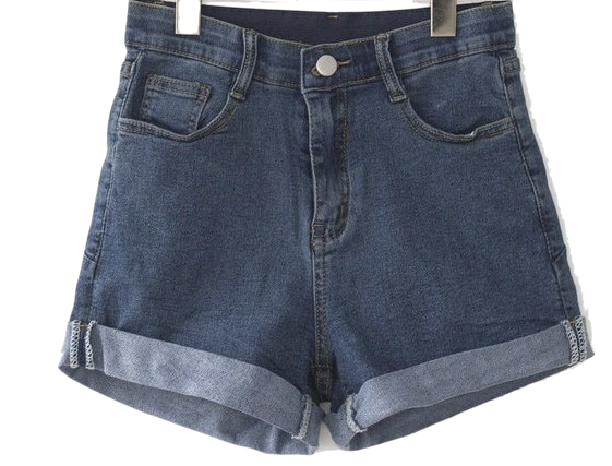 Roll-up short pants