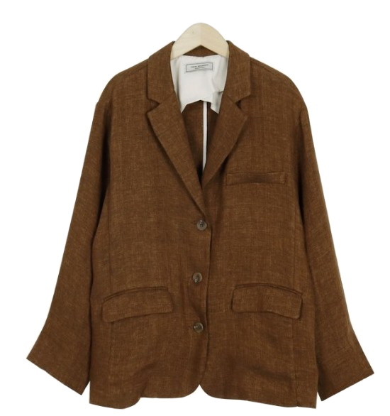Made_outer-118_linen standard jacket_M (size : free)