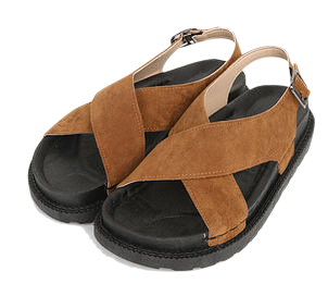 duly suede sandal (225-250)