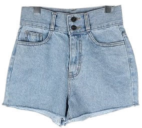 Two button shorts