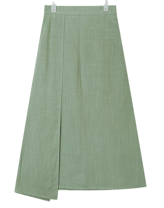 side point unique skirt