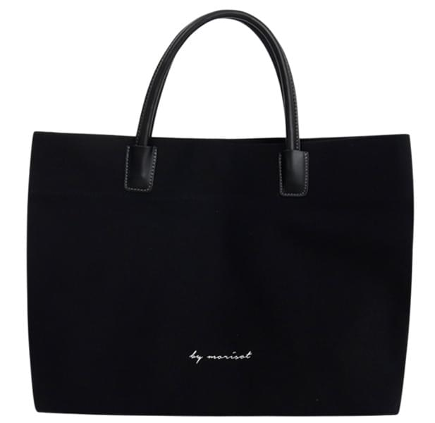 Over square tote bag_B (size : one)