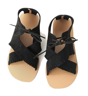 soft suedette bohemian sandals (3colors)