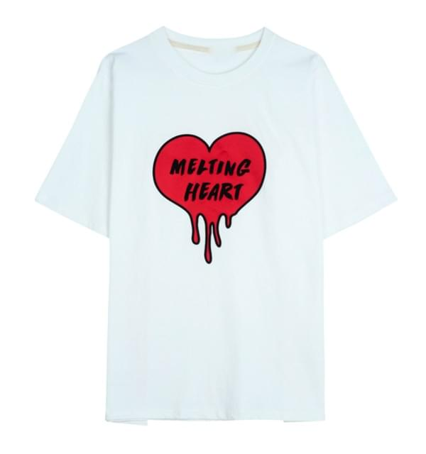 Melting Heart Short Sleeve Tee
