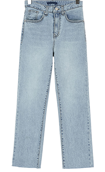 Lotty straight denim pants