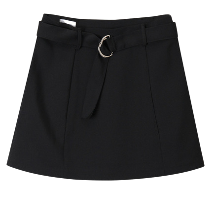 SALE D-ring mini skirt