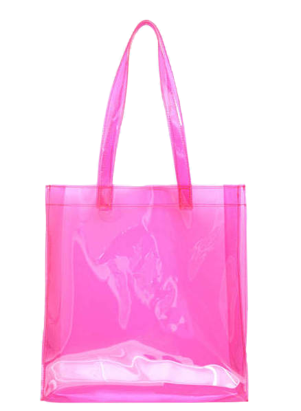 SALE clear bag