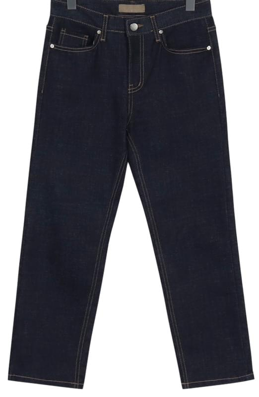 Oil straight denim pants_M (size : S,M)