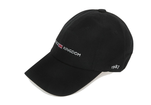 Kingdom lettering ball cap