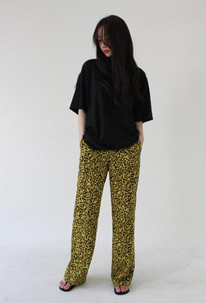 Leopard pants (2colors)