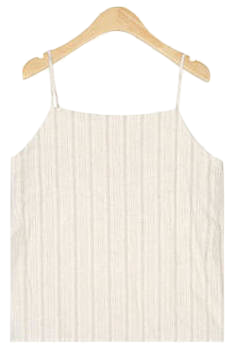 story stripe linen sleeveless