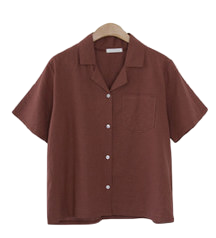 Stitched Linen Shirt # 12 Reorder #Basic Daily Item
