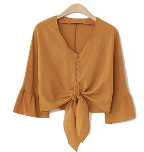 Cloved goddess blouse