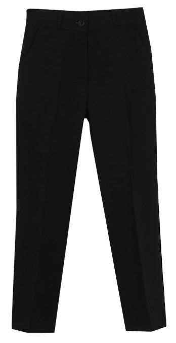 Sik Black Date Slacks
