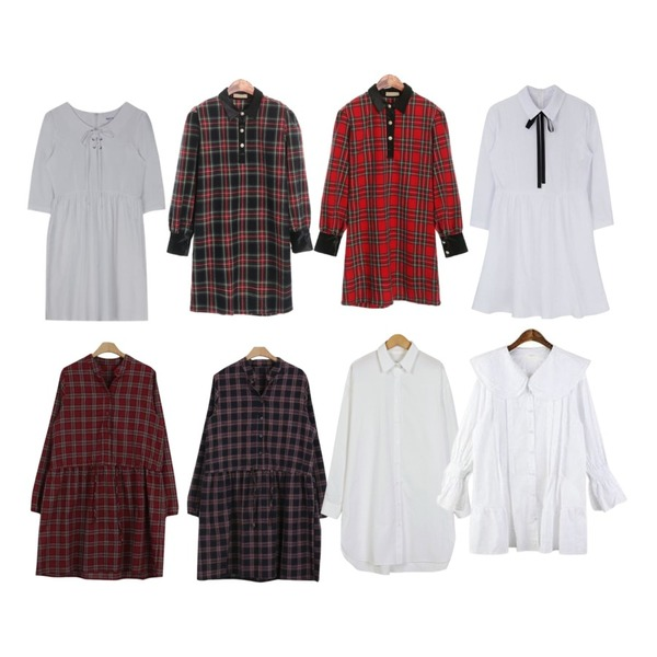 about moon [1000장 돌파♡/주문폭주]런던 체크 원피스 (3 color),ROCOSIX holiday check OPS,ROCOSIX holiday check OPS등을 매치한 코디