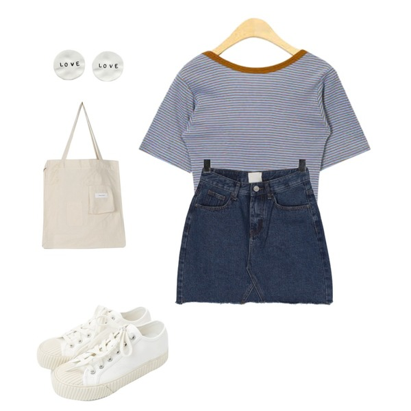 daily monday Simple every day sneakers,AIN back point stripe T,BULLANG GIRL 투나잇너와SK등을 매치한 코디
