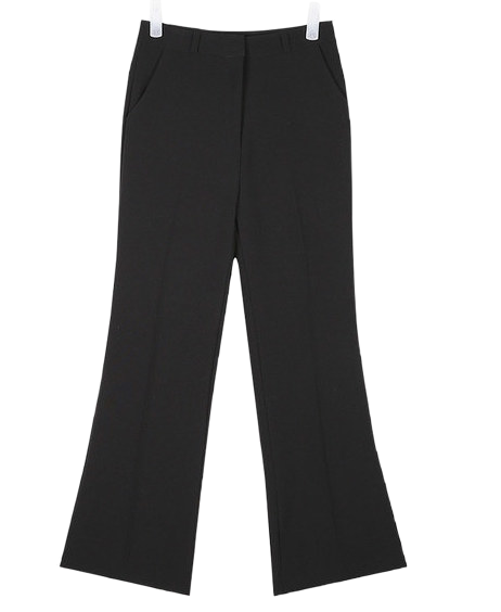 bucket semi boots cut slacks (s, m)