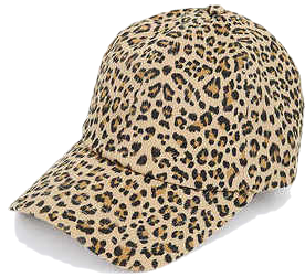 leopard point cap
