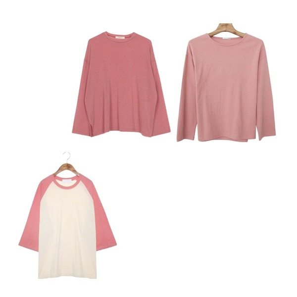 common unique [TOP] DAILY RAGLAN 7 SLEEVE T,biznshoe Tension color tee (6colors),Zemma World [무배 EVENT]자체제작/ Apricot-10수쭉티등을 매치한 코디