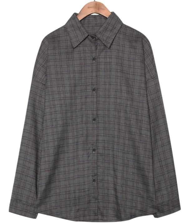 GLEN CHECK LOOSE FIT SHIRTS