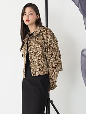 unique leopard pattern jacket