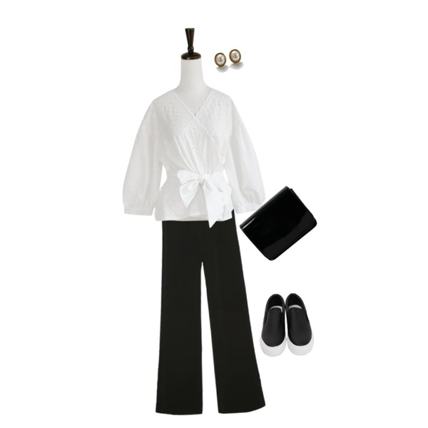 common unique [BOTTOM] SUPER SLIM SEMI BOOTS SLACKS,From Beginning Enamel mini two-way bag_H (size : one),SUNSHINE WITH ME 레이스랩-bl등을 매치한 코디
