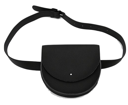 Sturdy half moon belt bag
