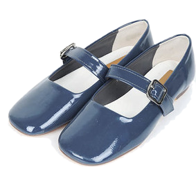 try enamel flat shoes (230-250)