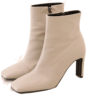 CHIC SQUARE ANKLE BOOTS boots