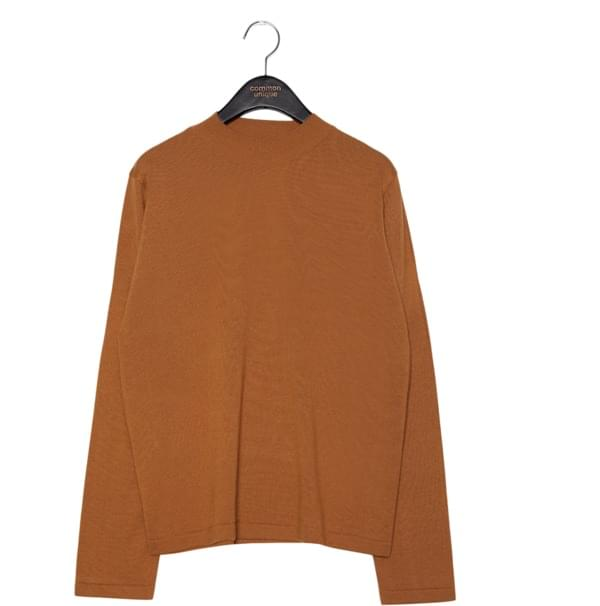 5 COLOR HALF NECK KNIT