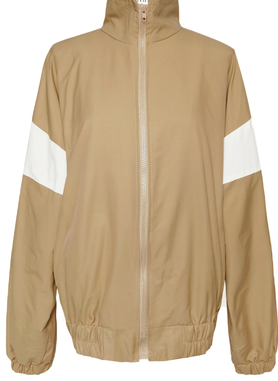 COLOR COMBI WINDBREAKER JUMPER
