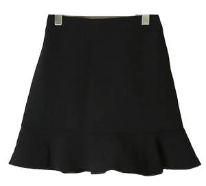 Over 10000 pieces! Basic mini ruffle skirt