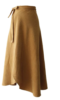 Pitch wrap skirt