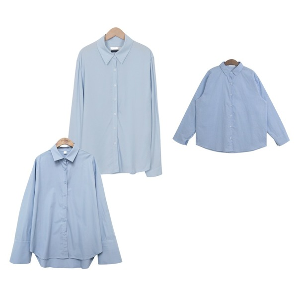 common unique [TOP] BASIC WIDE CUFFS SHIRTS,TODAY ME 그레이 셔츠,From Beginning Autumnal rayon shirts_B (size : free)등을 매치한 코디