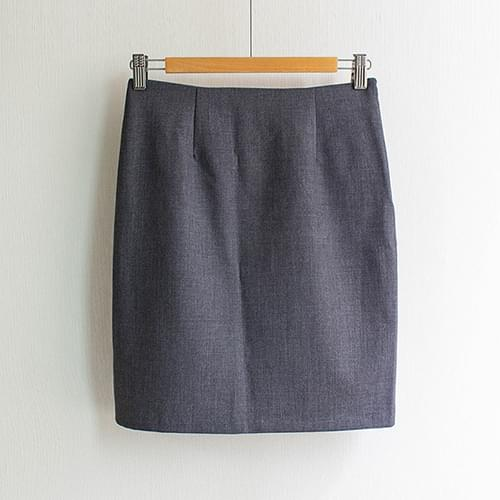 Ashley Basic H-line skirt