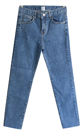 Mind Cutting Slim Denim Pants