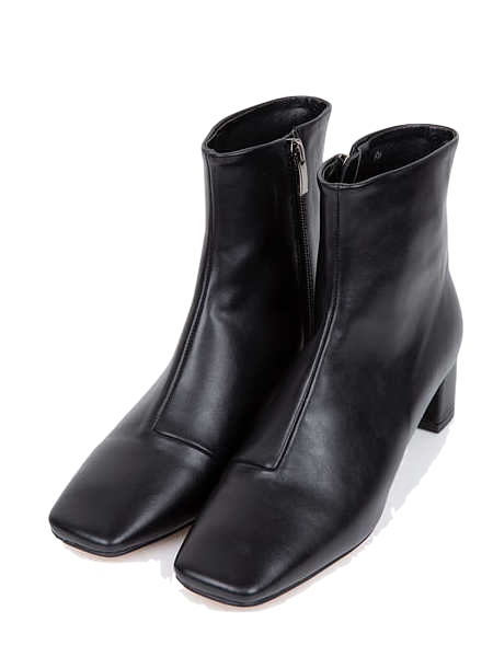 chic square ankle boots (225-250)