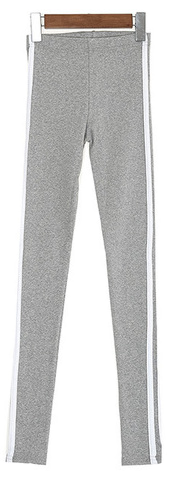 Two-line line leggings