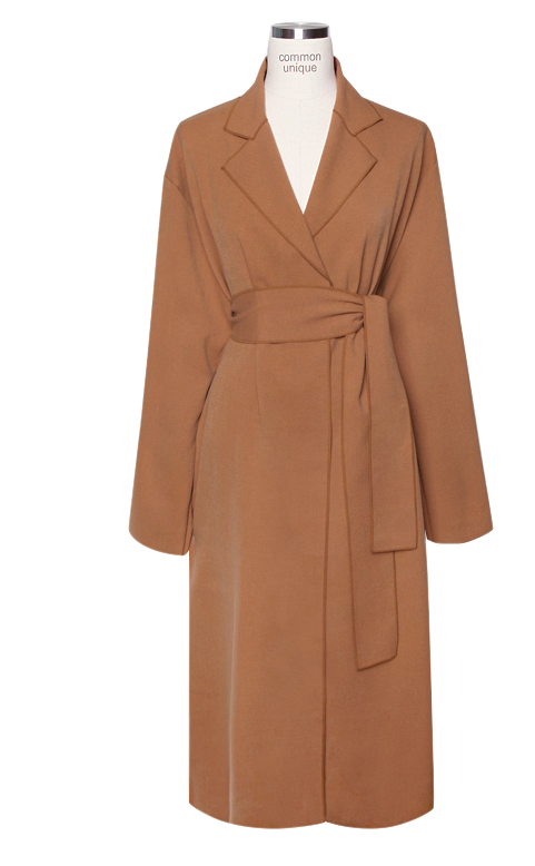 LOW STRAP ROBE LONG COAT