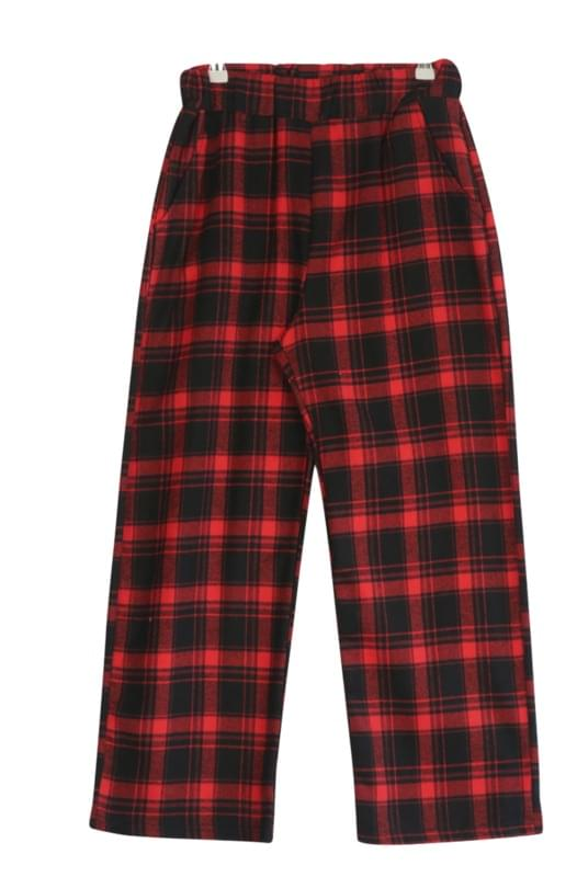 Toxic Check Long Pants