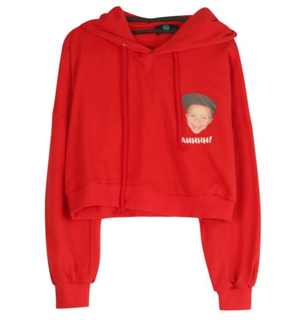 Kids Harry Crop Hoody