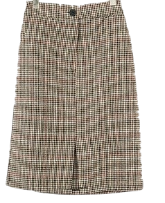 Trolley wool skirt
