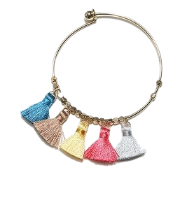 Five-color surgery ring bangle